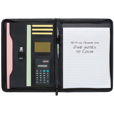 Image of Promotional Conference Folder with Calculator