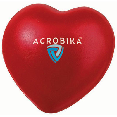 Image of Promotional Heart Shaped Stress Reliever