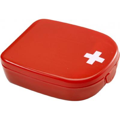 Image of Custom branded First aid kit in plastic case