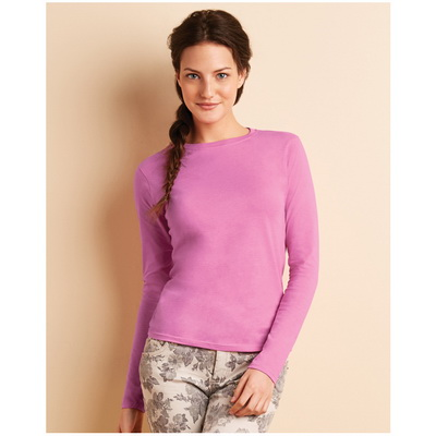 Image of Promotional Ladies Soft Long Sleeve T Shirt