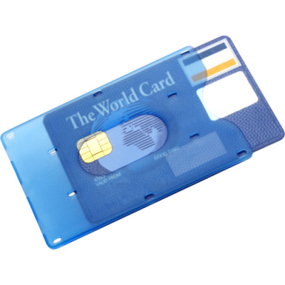 Image of Bank card holder for one card