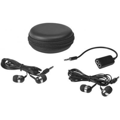 Image of Sound Off Earbuds & Splitter with Case