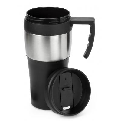 Image of Custom branded Travel Mug.
