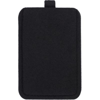 Image of Felt mobile phone pouch.