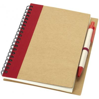 Image of Promotiona printed Notebook With Pen