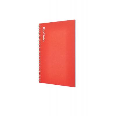 Image of A5 Wirobound Book - Coloured Card Covers - Foil Blocked