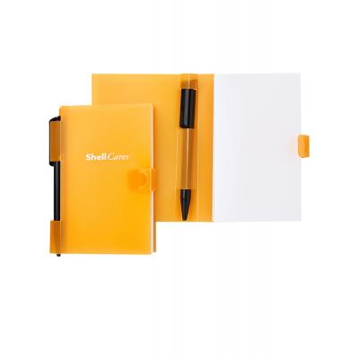 Image of Pocket Buddy Pad - Notepad with Polypropylene Cover and Pen Holder