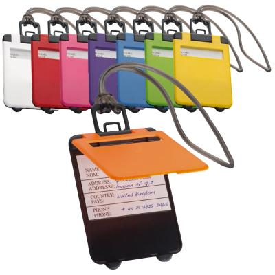 Image of Promotional Colourful Trendy Luggage Tag