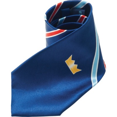 Image of Promotional Printed Silk Tie