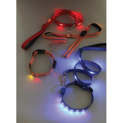 Image of Promotional branded Light Up Dog Lead and Collar