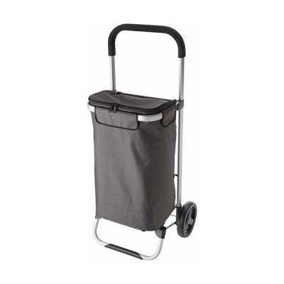 Image of Groceries trolley in a polyester 320g grey material