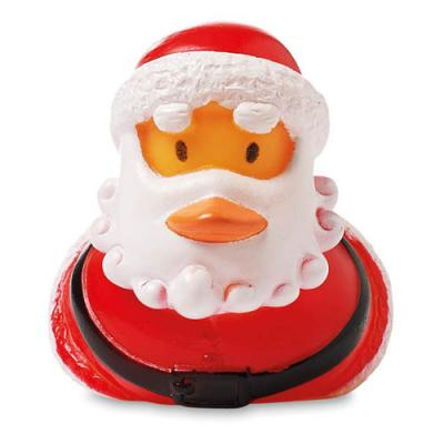 Image of Floating Duck Santa Claus