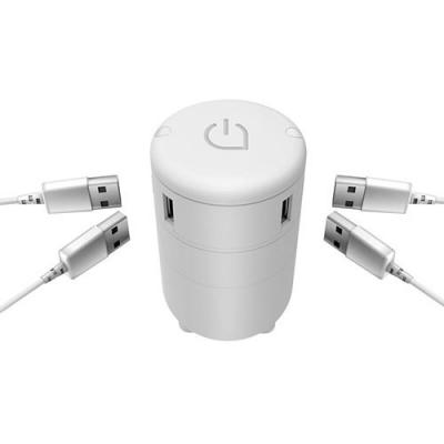 Image of Satellite 4 port USB travel adapter
