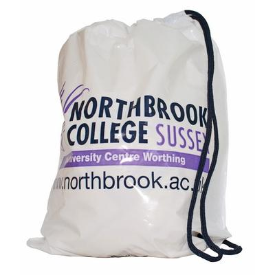 Image of Promotional Duffle Polythene Carrier Bag