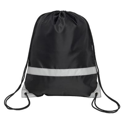 Image of Promotional Reflective Drawstring Bag