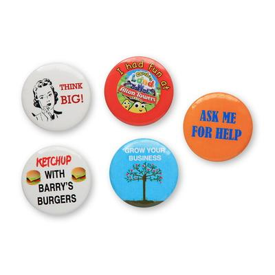Image of Promotional Button Badge 38mm