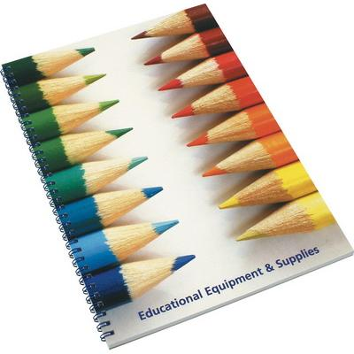 Image of Promotional Wiro Notepads A4