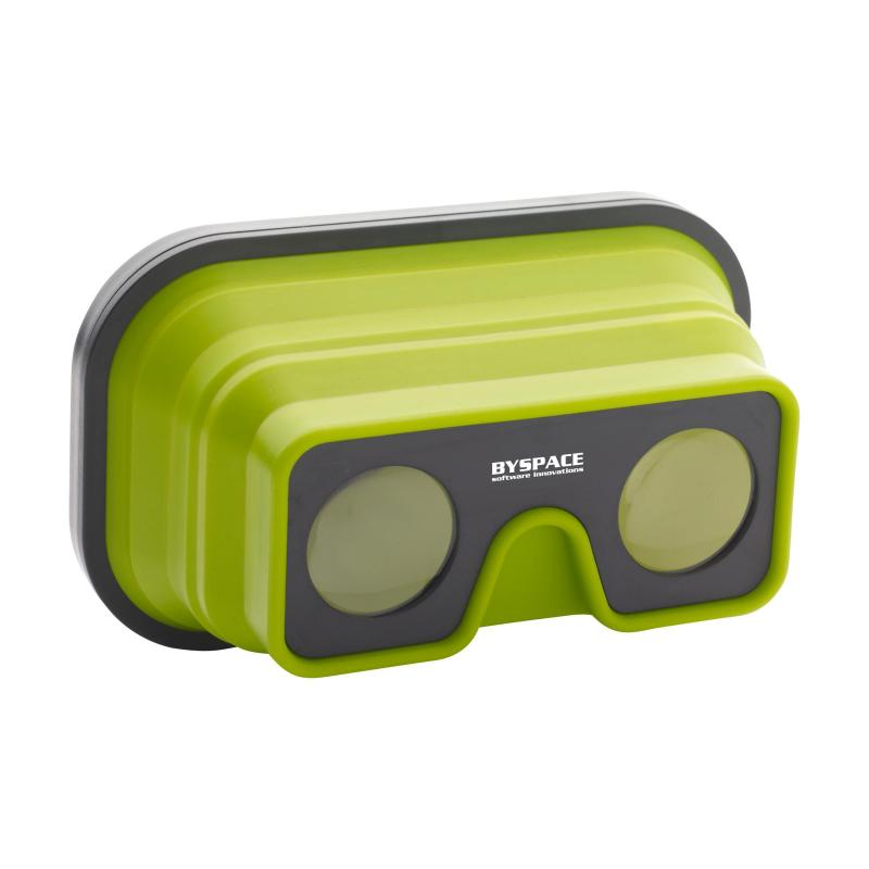 Image of Promotional Folding VR Glasses in Green