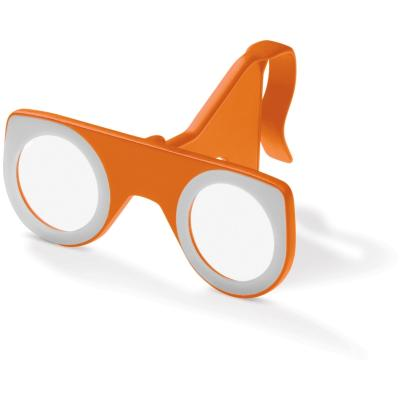 Image of Printed Foldable VR Glasses in Orange