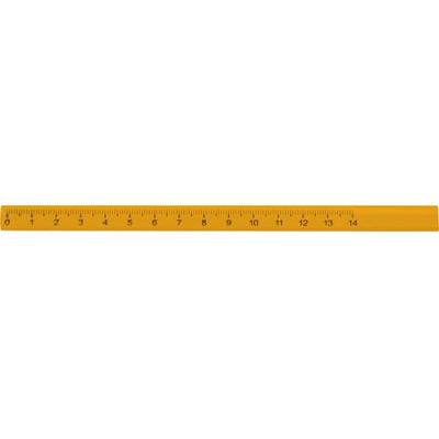 Image of Carpenters pencil with a 14cm ruler print