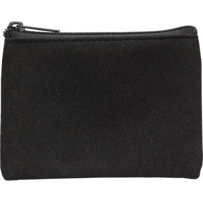 Image of Polyester zipped key wallet