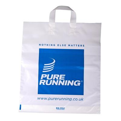 Image of Promotional branded polythene Carrier Bag