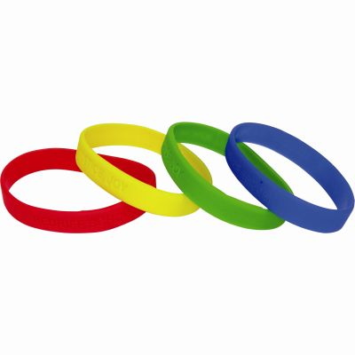 Image of Silicone Wristbands (UK Stock)