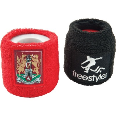 Image of Embroidered Promotional Towelling Sweat Bands