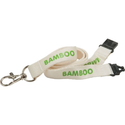 Image of Promotional 20mm Bamboo Lanyard