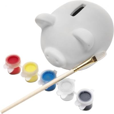 Image of Promotional Piggy bank made of plaster