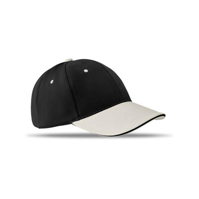 6 panels baseball cap brushed    Baseball Caps    JEM Promotions db9d338f74