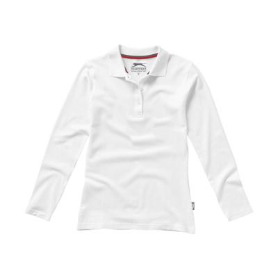 Image of Promotional long sleeve ladies polo shirt