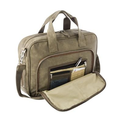 Image of Laptop bag in a soft PU material.