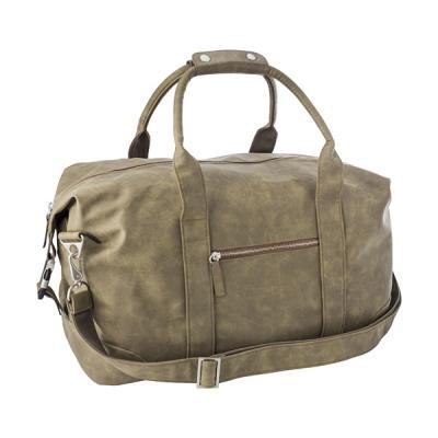Image of Travel bag in a soft PU material.
