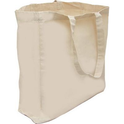 Image of Natural 5oz Cotton Shopper Bag