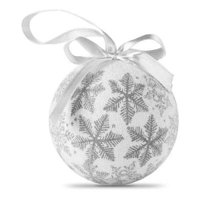 Image of Promotional printed Christmas bauble in gift box