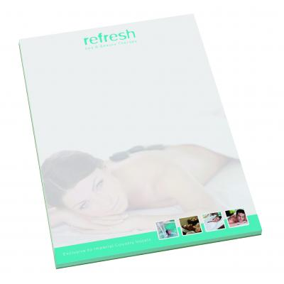 Image of Promotional branded notepad A4