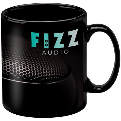 Image of Promotional Black Mug