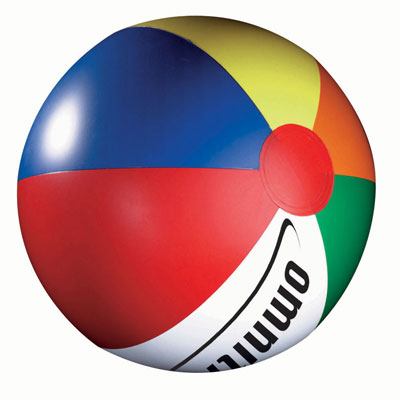 Image of Promo branded Beach Balls