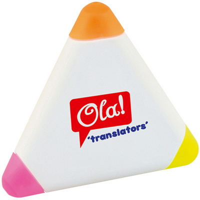 Image of Printed Triangle Highlighter
