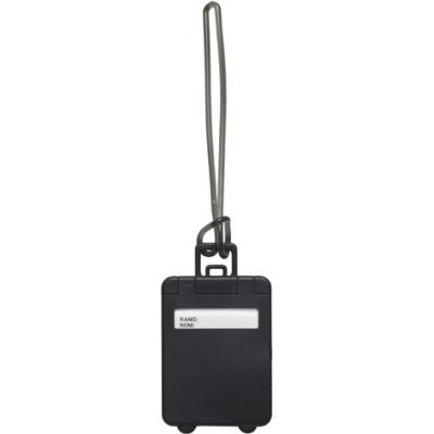 Image of Suitcase shaped promotional Luggage tag