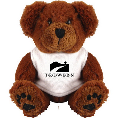 Image of Promotional Teddy Bear with printed T Shirt