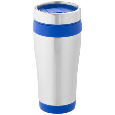 Image of Promotional Insulated Mug with coloured trim