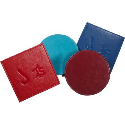 Image of Branded leather Coasters