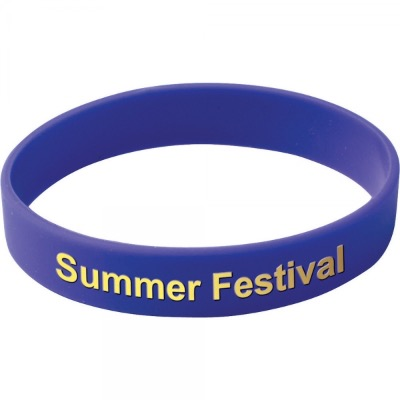 Image of Silicone Wristband (Adult: Printed Design)