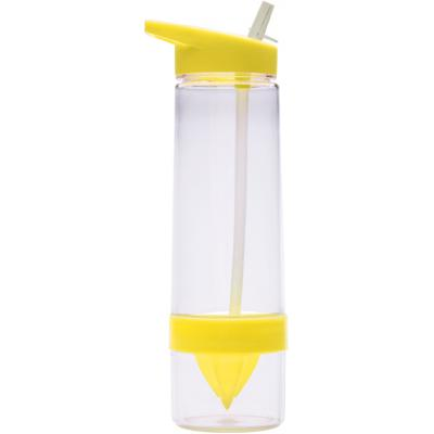Image of Promotional Tritan water bottle with straw