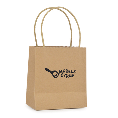 Image of Promotional Small Brown Paper Bag