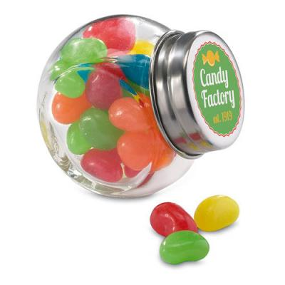 Image of Glass jar with jelly beans