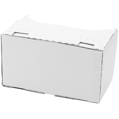 Image of Promotional Virtual Reality Glasses White Card