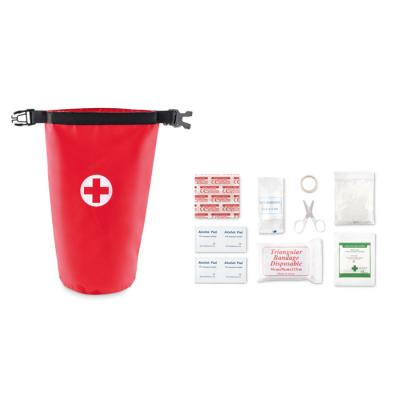 Image of First aid kit in bag